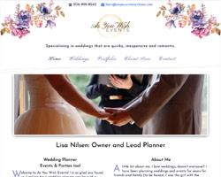 As You Wish Events WA by HawkFeather Web Design