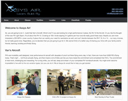 Axsys Air by HawkFeather Web Design