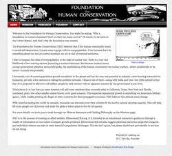 Foundation for Human Conservation