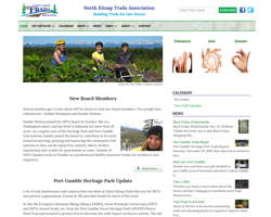 North Kitsap Trails Association by HawkFeather Web Design