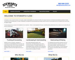 Stewarts 4 Less by HawkFeather Web Design